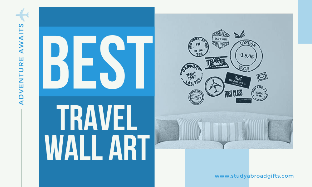 best travel quotes wall art