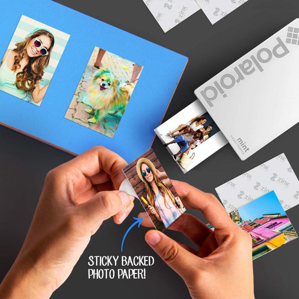 polaroid pocket photo printer for study abroad