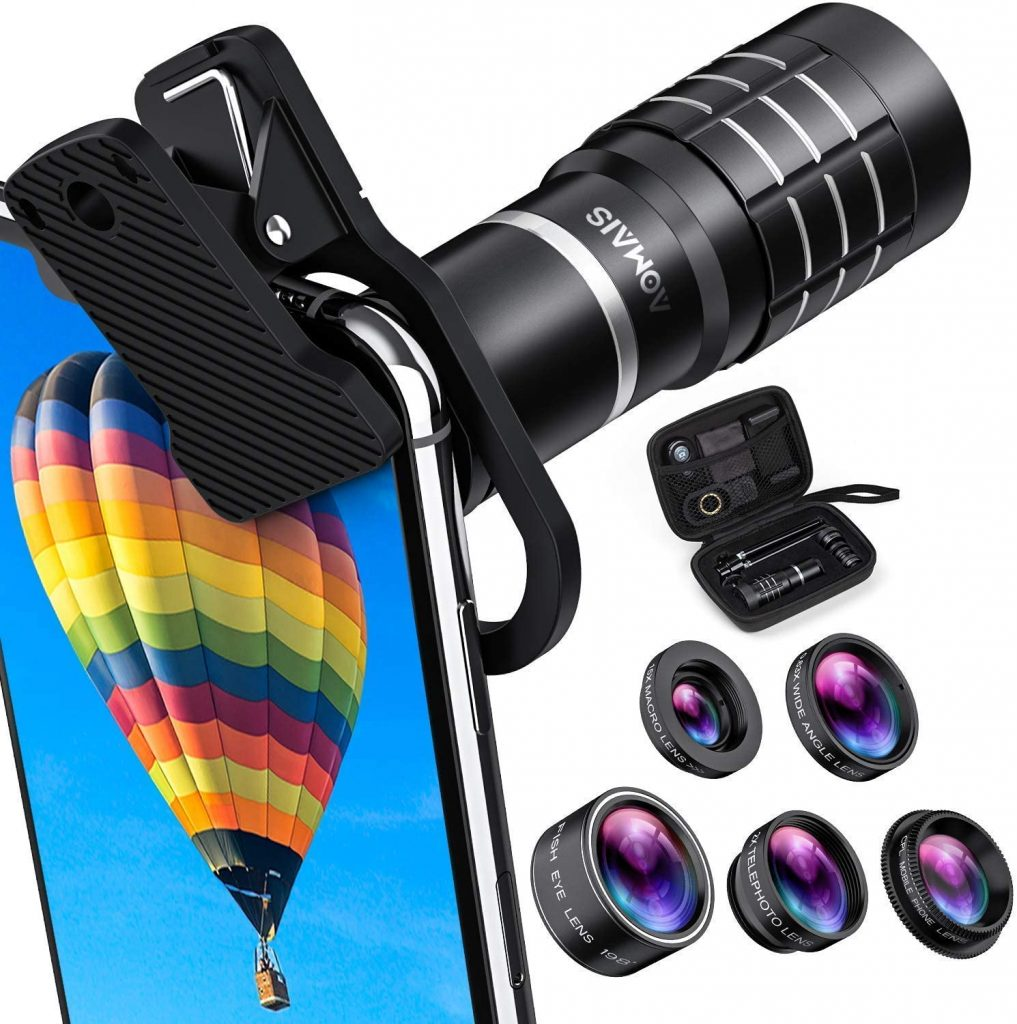 cell phone camera accessories professional hd camera lens kit for phone study abroad