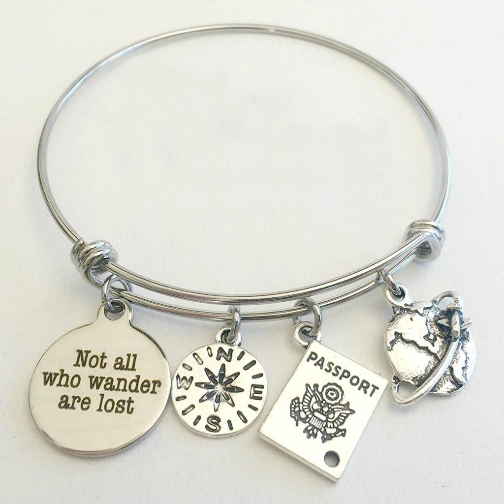 study abroad travel bracelet
