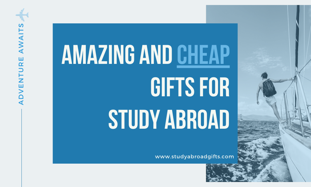 affordable cheap study abroad gifts