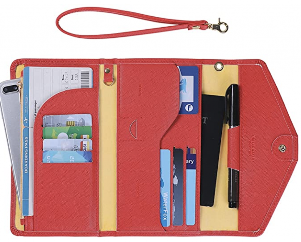 passport wallet for study abroad