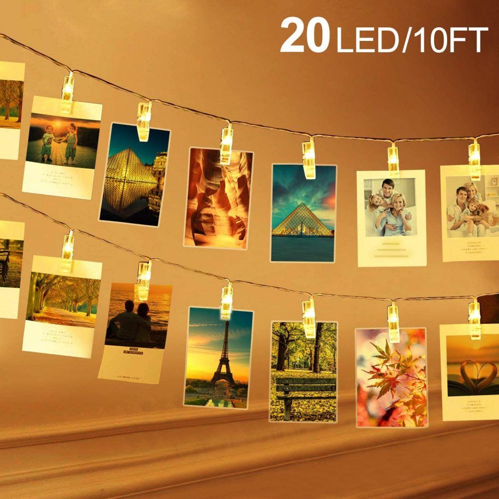 string lights photo decorations