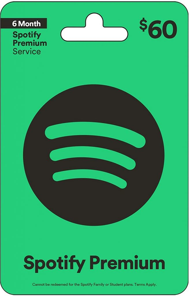 spotify gift card for study abroad