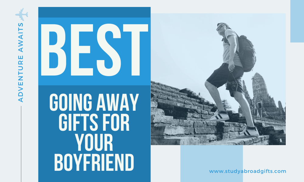 best gifts for boyfriend traveling abroad
