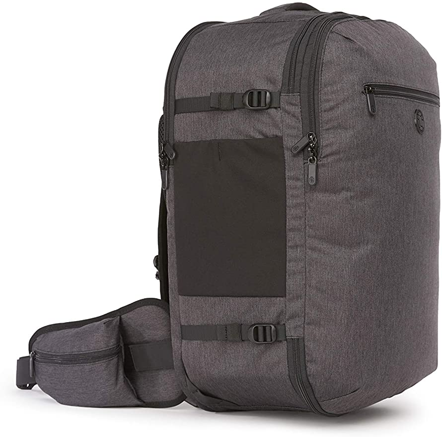 Setout Travel Backpack Men's Fit: 45L Maximum-Sized Carry On Backpack