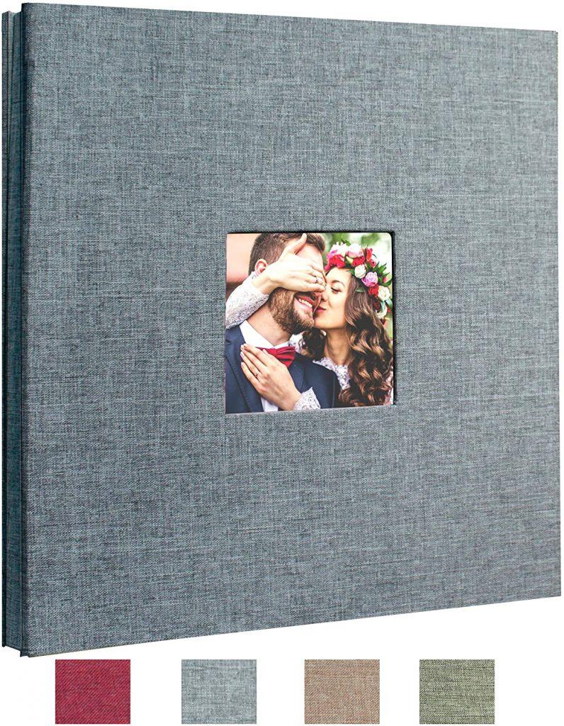 Beautyus Self Adhesive Stick Photo Album Magnetic Scrapbook DIY Anniversary Memory Book for Baby Wedding Family Albums