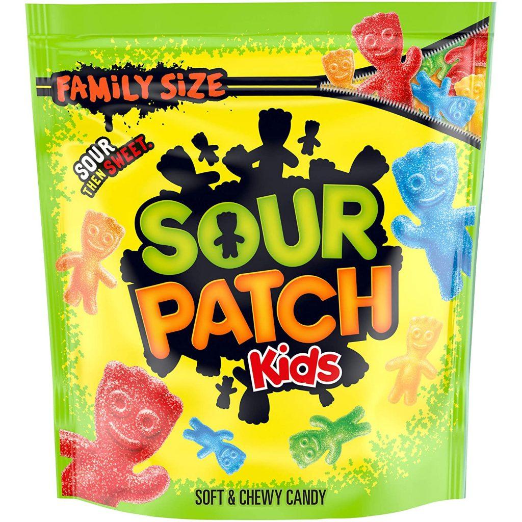 SOUR PATCH KIDS Candy, Original Flavor, 1 Family Size Bag