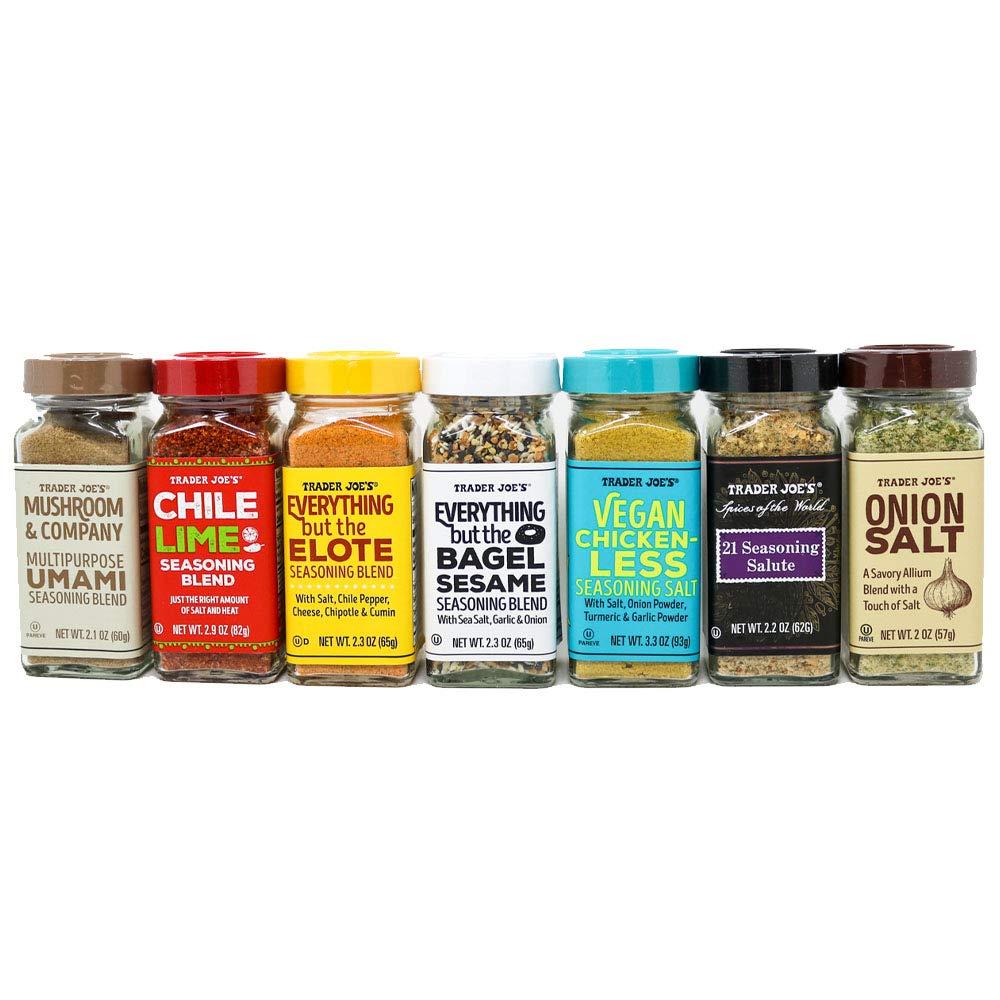 Trader Joe's Spice Seasoning Variety Set - 7 Flavors