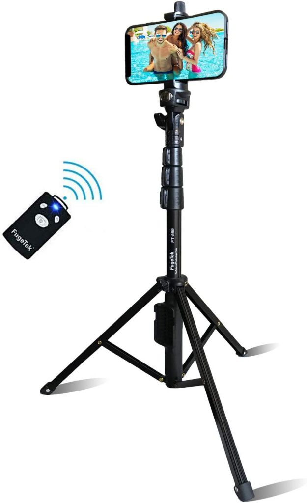Tripod Selfie Stick with Bluetooth Remote