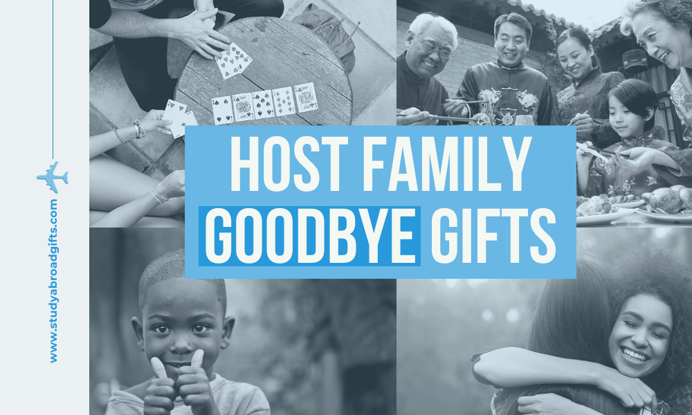 best goodbye gifts for host family