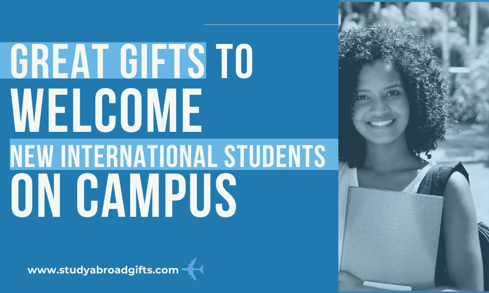 best welcome gifts for exchange students