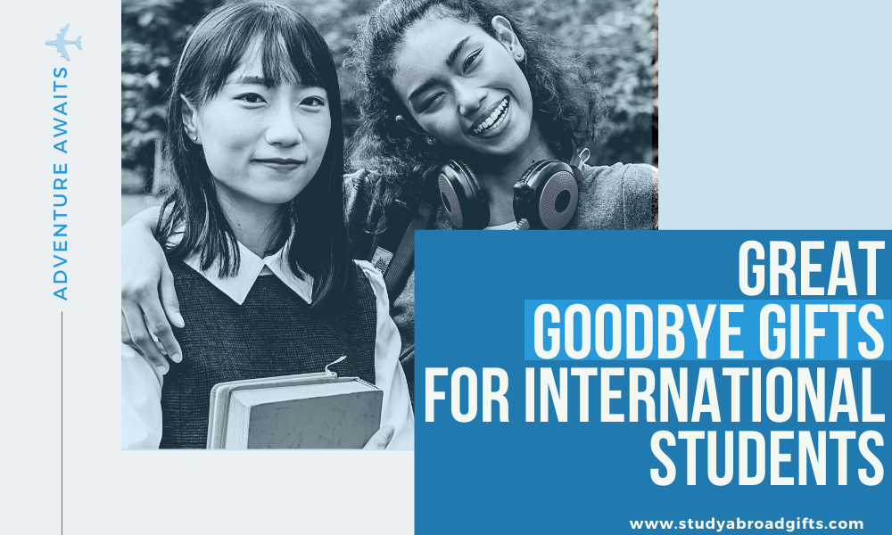 best goodbye gifts for exchange students